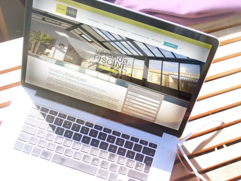 Création site internet Vérandas Soko